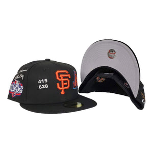 New Era Black San Francisco Giants Souvenir 59FIFTY Fitted