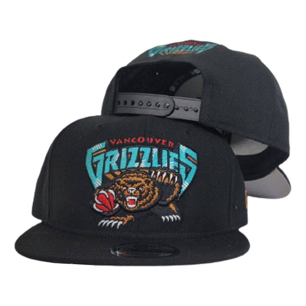 New Era Black Vancouver Grizzlies 9FIFTY Snapback