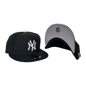 New Era Black on White New York Yankees 59Fifty Fitted