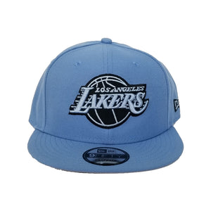 New Era Los Angeles Lakers University Blue 9FIFTY Snapback Hat