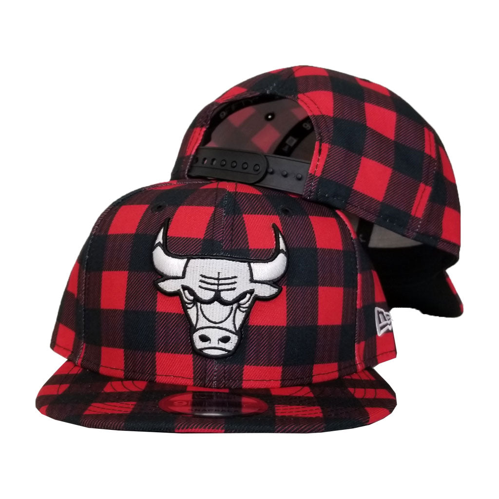 New Era Lumberjack Chicago Bulls 9Fifty Snapback