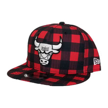 Load image into Gallery viewer, New Era Lumberjack Chicago Bulls 9Fifty Snapback