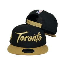 Load image into Gallery viewer, New Era NBA City Series Edition Toronto Raptors Snapback 9Fifty Hats