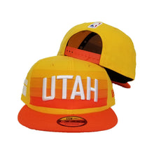 Load image into Gallery viewer, New Era NBA City Series Edition Utah Jazz Snapback 9Fifty Hats