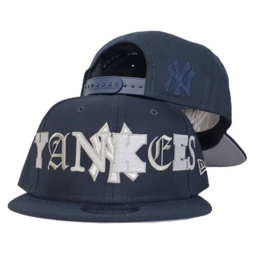 New Era NEW YORK YANKEES MIXED FONT 9FIFTY SNAPBACK