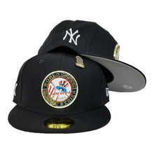 Load image into Gallery viewer, New Era Navy Blue New York Yankees 1949 World Series Metal Badge 9Fifty Fitted Hat