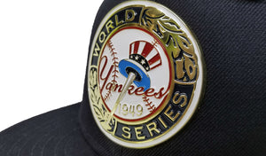 New Era Navy Blue New York Yankees 1949 World Series Metal Badge 9Fifty Fitted Hat