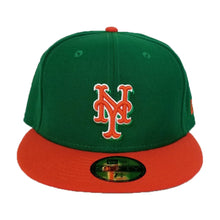 Load image into Gallery viewer, New Era New York Mets Green / Orange 59FIFTY Fitted Hat