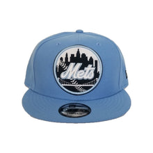 Load image into Gallery viewer, New Era New York Mets University Blue 9FIFTY Snapback Hat