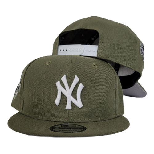 New Era New York Yankees 2000 World Series Olive Green 9Fifty Snapback Hat