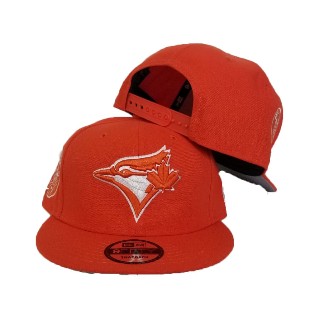 New Era Orange Toronto Blue Jays 9Fifty Snapback Hat