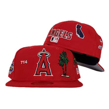 Load image into Gallery viewer, New Era Red Los Angeles Angels Souvenir 59FIFTY Fitted