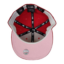 Load image into Gallery viewer, New Era Red Washington Nationals Pink Undervisor 59FIFTY Fitted