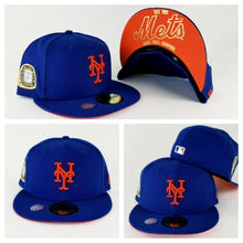 Load image into Gallery viewer, New Era Royal Blue New York Mets 2 times Champions Ring 59Fifty Fitted Hat