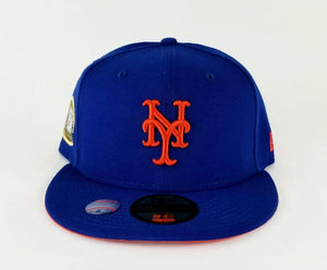 New Era Royal Blue New York Mets 2 times Champions Ring 59Fifty Fitted Hat