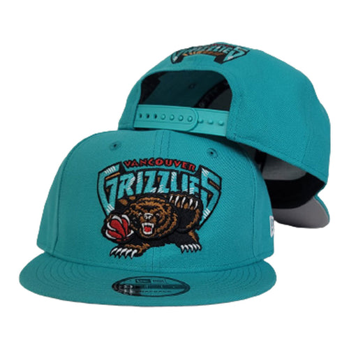 New Era Teal Vancouver Grizzlies 9FIFTY Snapback
