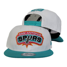 Load image into Gallery viewer, New Era White South Beach San Antonio Spurs 9Fifty Snapback