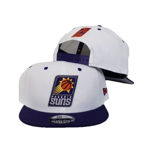 New Era White / Purple Phoenix Suns 9Fifty Snapback