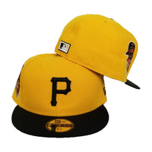 Load image into Gallery viewer, New Era Yellow Pittsburgh Pirates 1959 All Star Fitted Hat