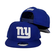 Load image into Gallery viewer, New York Giants Royal Blue New Era 9Fifty Snapback