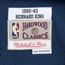 Load image into Gallery viewer, New York Knicks 1982-83 Bernard King Mitchell & Ness Navy Swingman Jersey