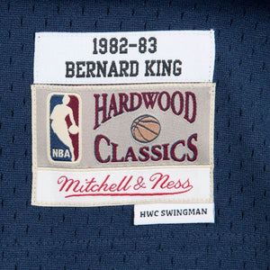 New York Knicks 1982-83 Bernard King Mitchell & Ness Navy Swingman Jersey