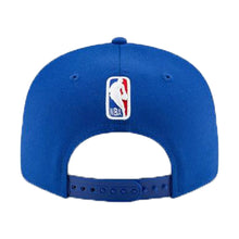 Load image into Gallery viewer, New York Knicks New Era Blue 2019 NBA Draft 9FIFTY Snapback Adjustable Hat