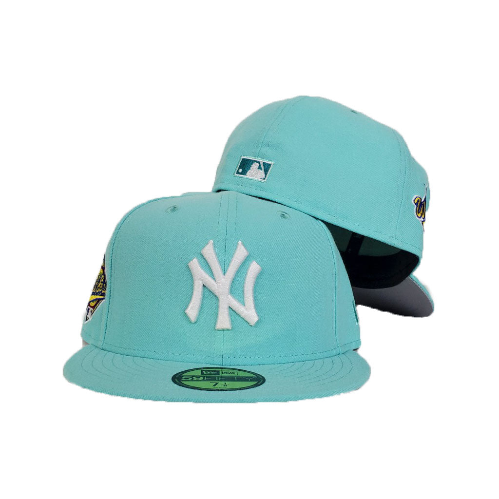 New York Yankees Mint Green Cooperstown 1996 World Series New Era 59Fifty Fitted