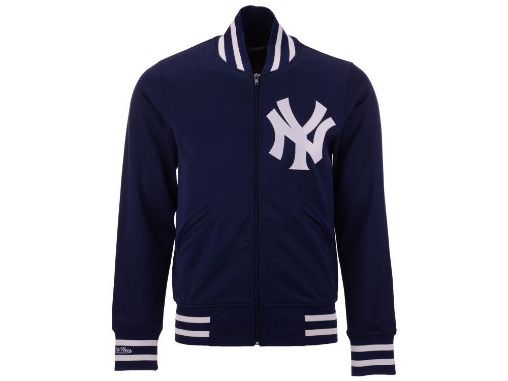 New York Yankees Mitchell & Ness Authentic Full Zip Warm Up Jacket