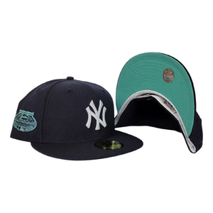 New York Yankees Navy Blue Mint Green Bottom 2008 All Star Game New Era 59Fifty Fitted