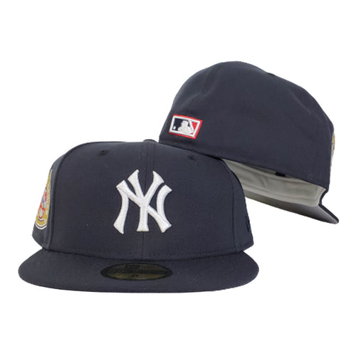 New York Yankees Navy Grey Bottom 1950 World Series New Era 59Fifty Fitted