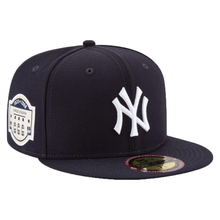 Load image into Gallery viewer, New York Yankees New Era MLB Stadium Patch Collection Game 59FIFTY Fitted hat Navy