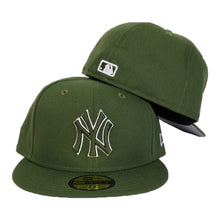 Load image into Gallery viewer, New York Yankees Olive Green New Era 59Fifty Fitted