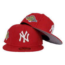 Load image into Gallery viewer, New York Yankees Red Cooperstown 1996 World Series New Era 59Fifty Fitted