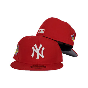 New York Yankees Red Cooperstown 1996 World Series New Era 59Fifty Fitted