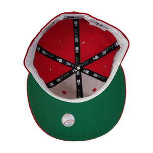 New York Yankees Red Green Bottom 2000 Subway Series New Era 59Fifty Fitted