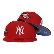 Load image into Gallery viewer, New York Yankees Red Icy Blue Bottom 100th Anniversary New Era 59Fifty Fitted