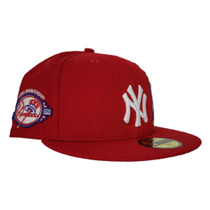 New York Yankees Red Purple Bottom Statue of Liberty New Era 59Fifty Fitted