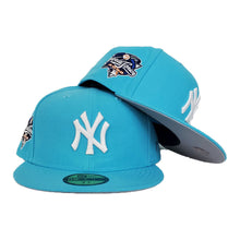 Load image into Gallery viewer, New York Yankees Vice Blue Grey Bottom 2000 World Series New Era 59Fifty Fitted
