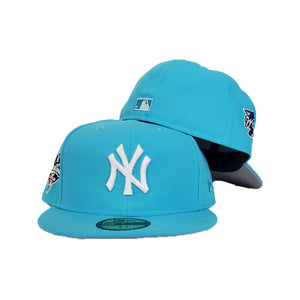 New York Yankees Vice Blue Grey Bottom 2000 World Series New Era 59Fifty Fitted