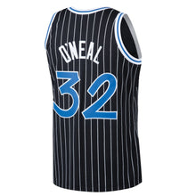 Load image into Gallery viewer, Orlando Magic 1994-95 Shaquille O'Neal Mitchell & Ness Black Swingman Jersey