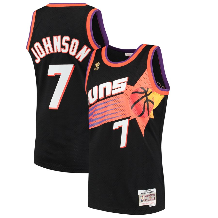 Phoenix Suns 1996 97 Kevin Johnson Mitchell Ness Exclusive Fitted Inc