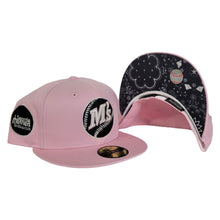 Load image into Gallery viewer, Pink Seattle Mariners Paisley Bottom Baseball Club Side Patch New Era 59Fifty Fitted