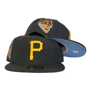 Pittsburgh Pirates Black Icy Blue Bottom 1959 All Star Game New Era 59Fifty Fitted