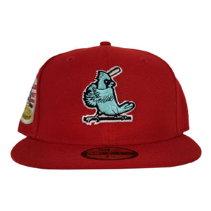 Red St. Louis Cardinals Mint Green Bottom 1967 World Series New Era 59Fifty Fitted
