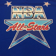 Load image into Gallery viewer, Royal Blue NBA All Star Mitchell & Ness 1991 Mesh V-Neck Jersey