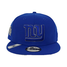 Load image into Gallery viewer, Royal New York Giants Grey Reflective XLII Super Bowl New Era 9Fifty Snapback Hat