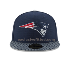 Load image into Gallery viewer, New England Patriots New Era Super Bowl LII 52 Sideline Patch 5950 Fitted Hat
