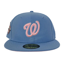 Load image into Gallery viewer, Sky Blue Washington Nationals Pink Bottom 2019 World Series Champions New Era 59Fifty Fitted