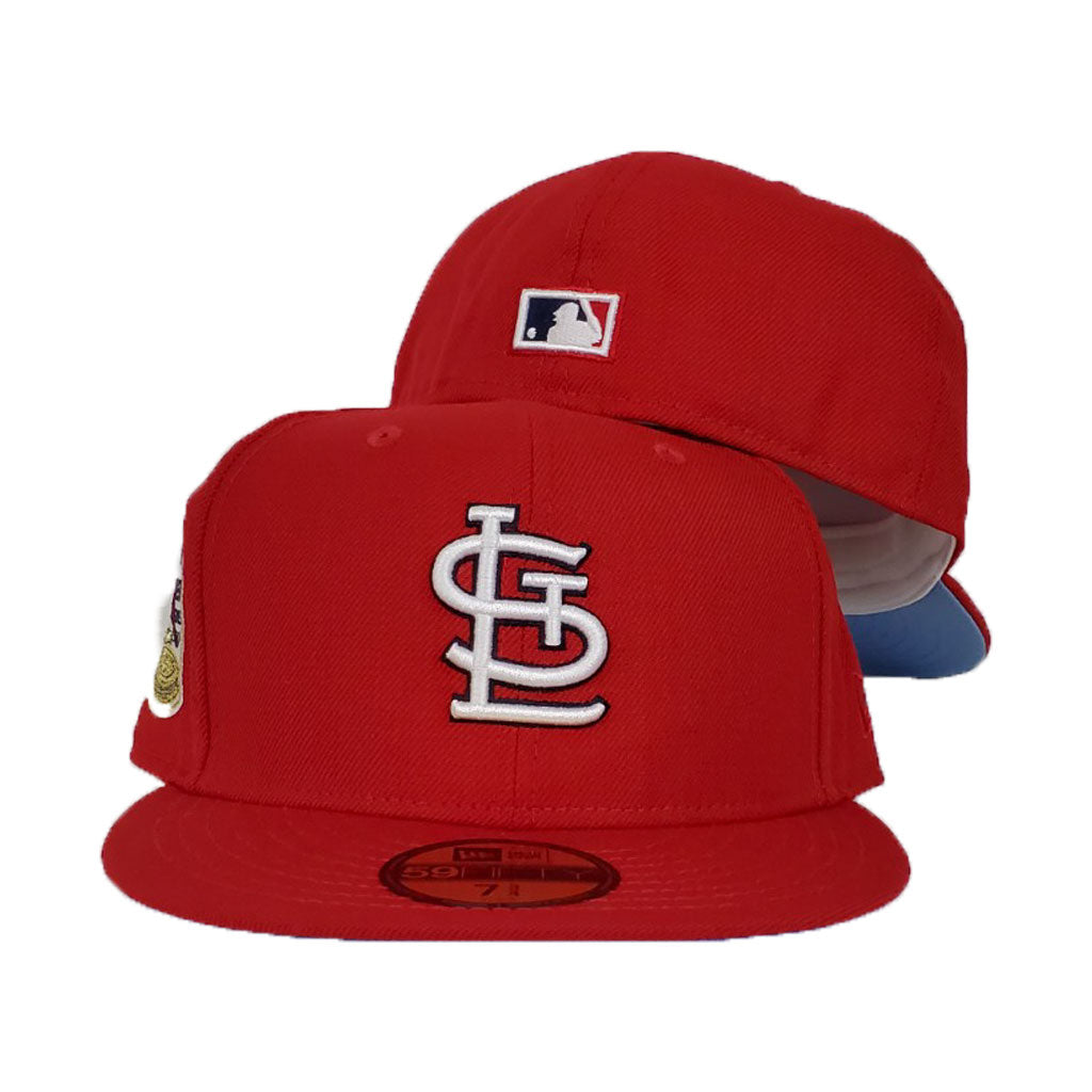 St. Louis Cardinals Red Icy Blue Bottom 1967 World Series New Era 59Fifty Fitted